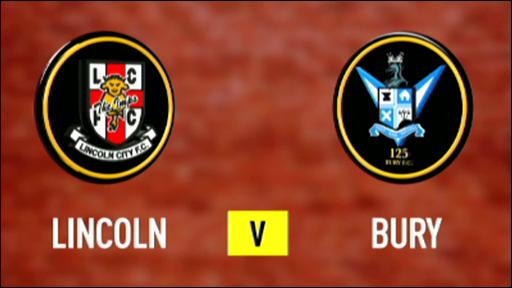 Lincoln 1-0 Bury