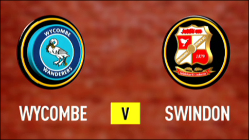 Wycombe v Swindon