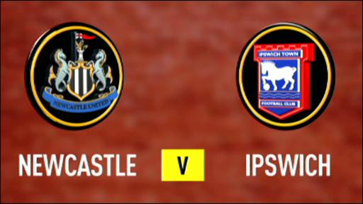 Newcastle 2-2 Ipswich
