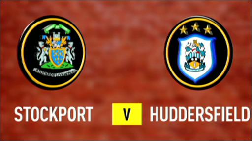 Stockport v Huddersfield
