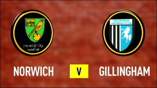 Norwich v Gillingham