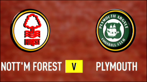 Nottm Forest 3-0 Plymouth