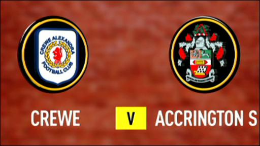 Crewe 5-1 Accrington Stanley