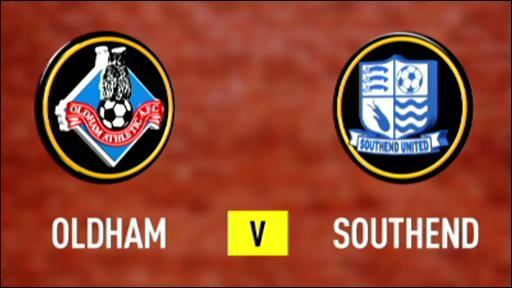 Oldham v Southend