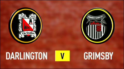 Darlington 0-2 Grimsby