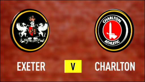 Exeter v Charlton