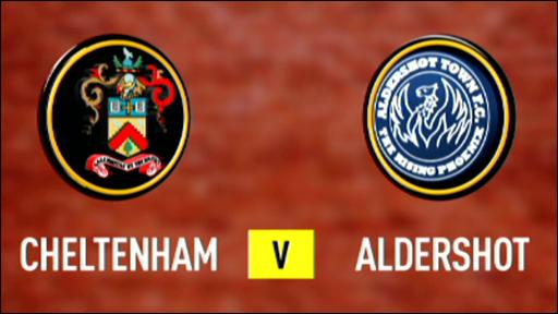 Cheltenham 1-2 Aldershot