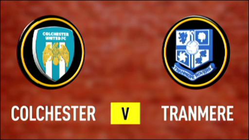 Colchester V Tranmere