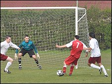 Football: Sylvans v Guernsey Athletics