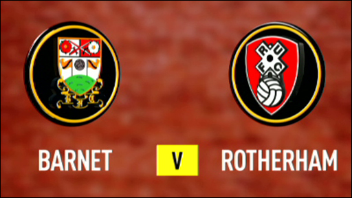 Barnet 0-1 Rotherham