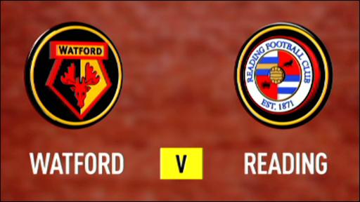 Watford 3-0 Reading