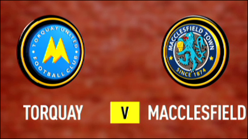 Torquay 1-0 Macclesfield