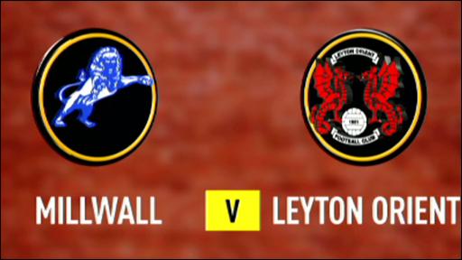 Millwall v Leyton Orient