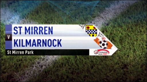 St Mirren v Kilmarnock