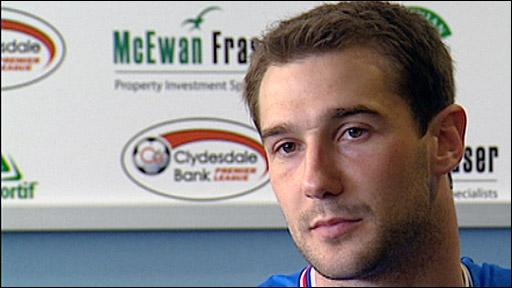 Rangers midfielder Kevin Thomson