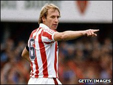 Former Stoke City defender Denis Smith