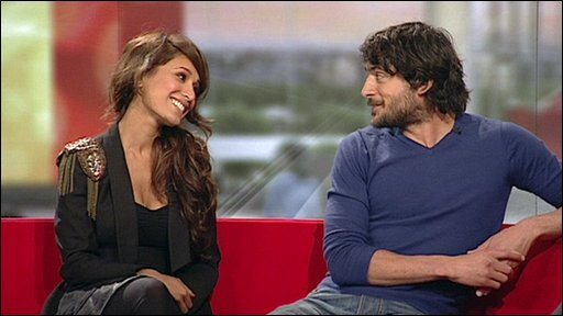 EastEnders actors Preeya Kalidas and Marc Elliott