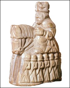 Medieval chess man