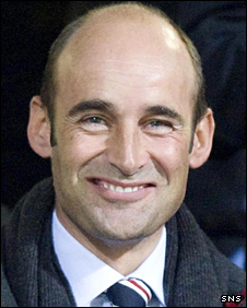Rangers chief executive Martin Bain