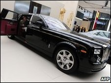 Rolls Royce Phantom at the Beijing Car Show, China (23 April 2010)