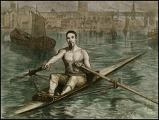 Image of rower James Renforth. Courtesy of Tyne & Wear Archives & Museums