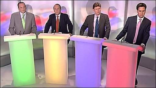 panel debating the environment