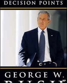 Cover of George W Bush's book