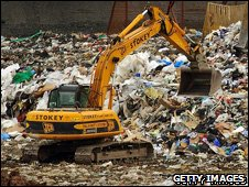 A landfill site (generic)