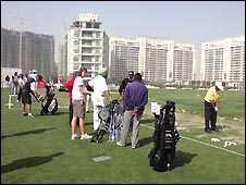 Sunday golfers in India