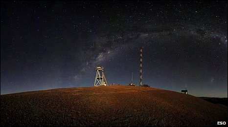 Cerro Armazones at night (Eso)