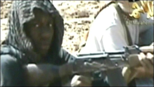 The video purports to show Umar Farouk Abdulmutallab