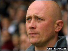 Alfreton boss Nicky Law