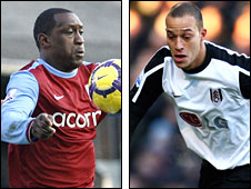 Emile Heskey and Bobby Zamora