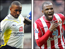 Jerman  Defoe and Darren Bent