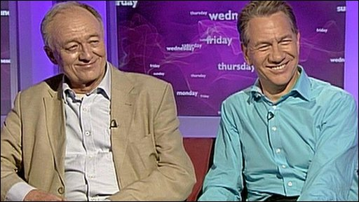 Ken Livingstone and Michael Portillo