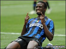 Kenya and Inter Milan's McDonald Mariga