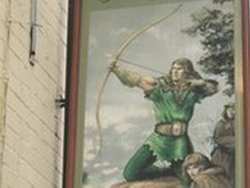 The village pub at Rookery in north Staffs is named after Robin Hood.