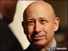Goldman chief executive Lloyd Blankfein