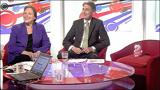 Susan Kramer, Philip Hammond and Peppa Pig
