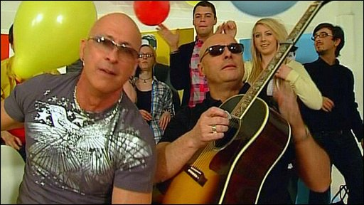 Right Said Fred and friends