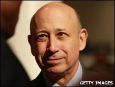 Goldman Sachs' Lloyd Blankfein