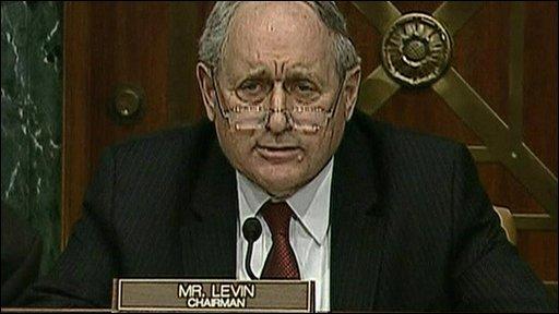 US Senator Carl Levin