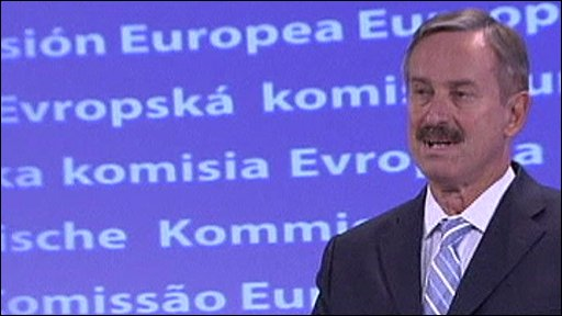 EU Transport Commissioner Siim Kallas