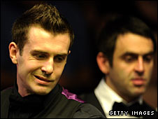 Mark Selby (left) and Ronnie O'Sullivan