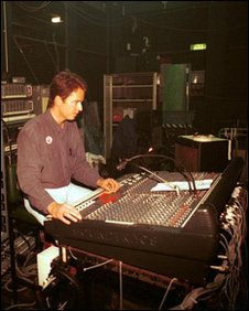 Mixing desk, Top of the Pops