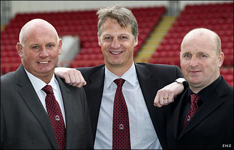 Stuart Millar, Neil Watt and Gordon Wylde