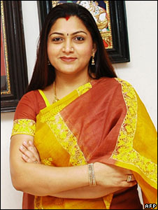 Tamil actress kushboo sex consider