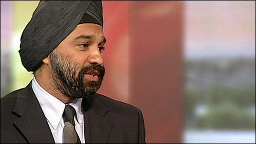 Chief Executive of Cancer Research UK Harpal Kumar