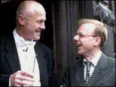 John Caudwell & Mike Howard