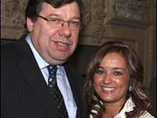 Brian Cowen and Natasha McShane